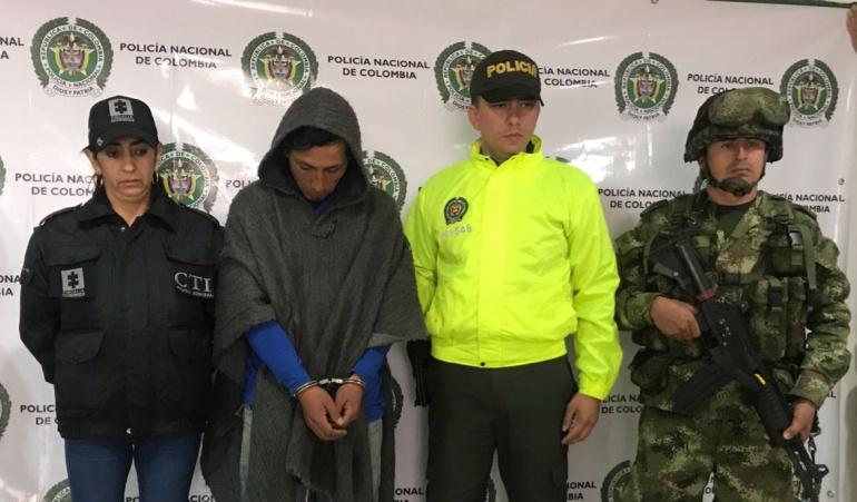 Detienen a responsable de terrorismo en oleoducto: Capturado presunto responsable de atentados contra oleoducto Transandino