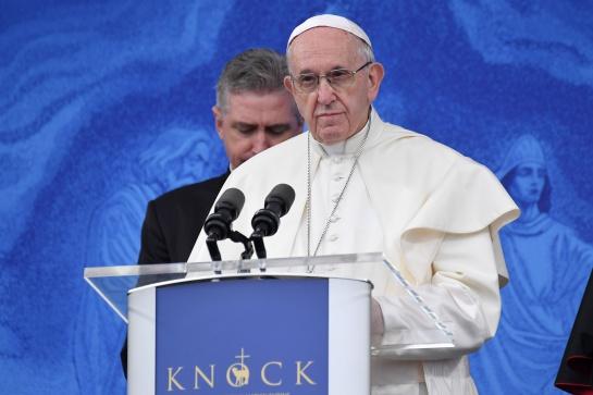 Discurso del Papa Francisco en su visita a Irlanda