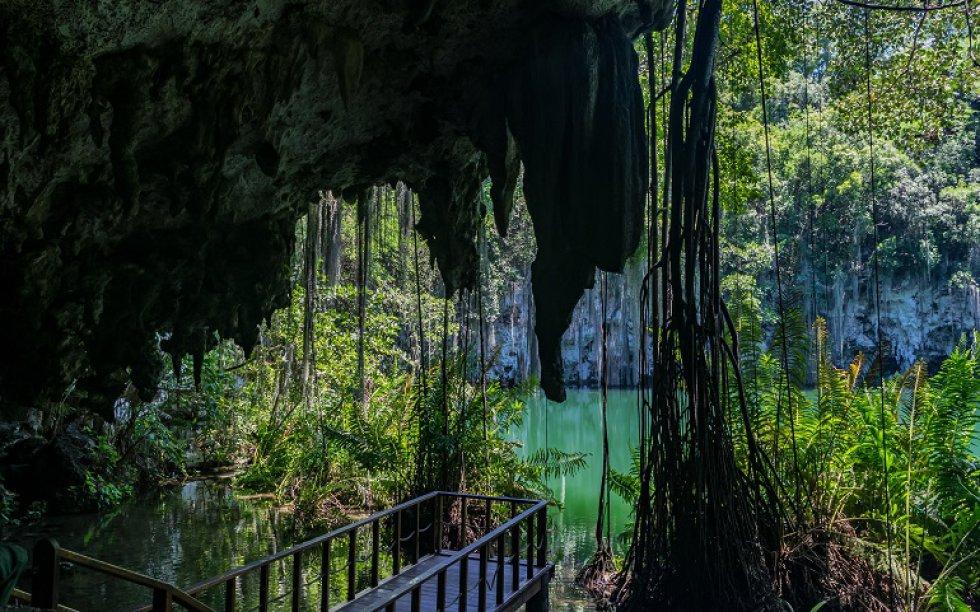 Para capturar sitios naturales, este lugar ubicado en Santo Domingo, República Dominicana es el ideal.La caverna con los tres cenotes naturales de este parque serán el mejor marco. Está ubicado a 30 minutos del centro de Santo Domingo.