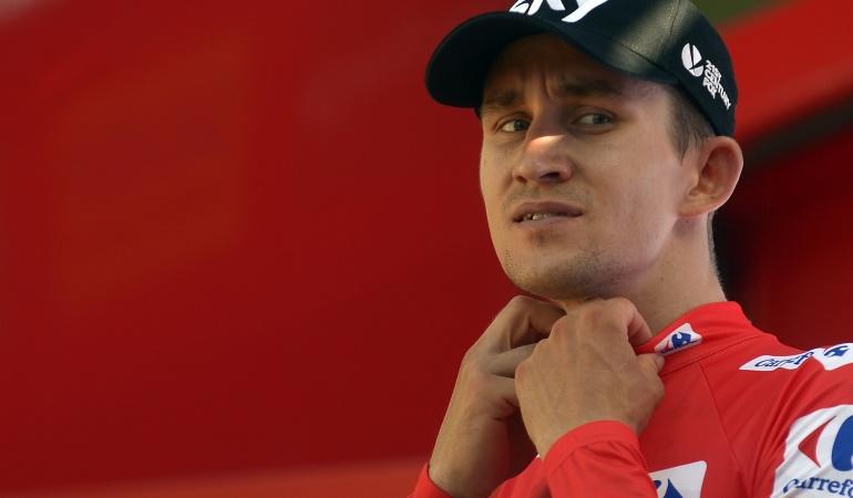 "Kwiatkowski sobre Nairo Quitana: Kwiatkowski: ""Quintana tiene que poner presión si quiere ganar La Vuelta"""