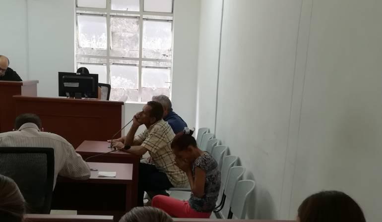 Los detenidos no aceptaron los cargos.