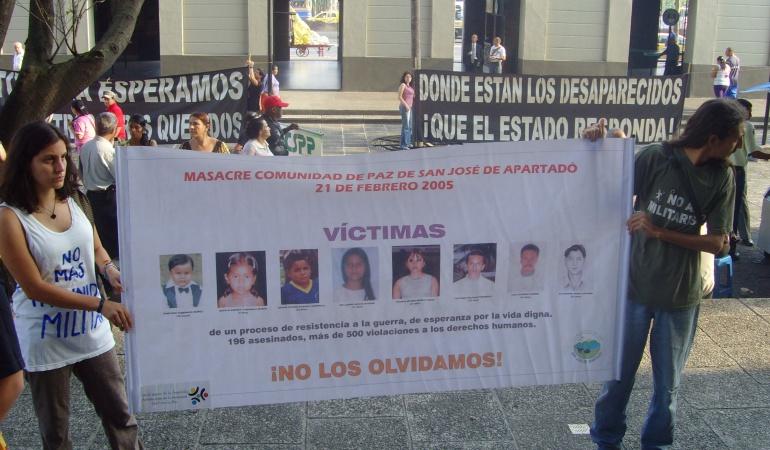 Justicia Masacre Apartadó: JEP llevará investigación por masacre de Apartadó, Antioquia