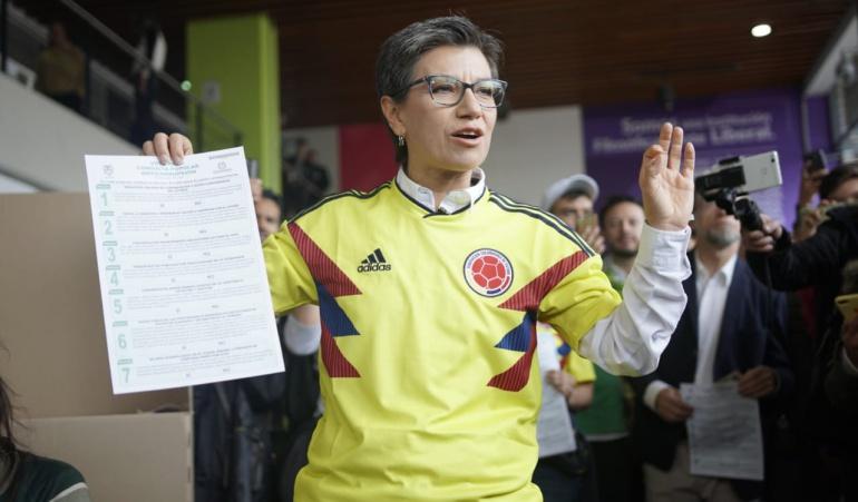 Resultados Consulta Anticorrupción: Claudia López impugna resultados de Consulta Anticorrupción