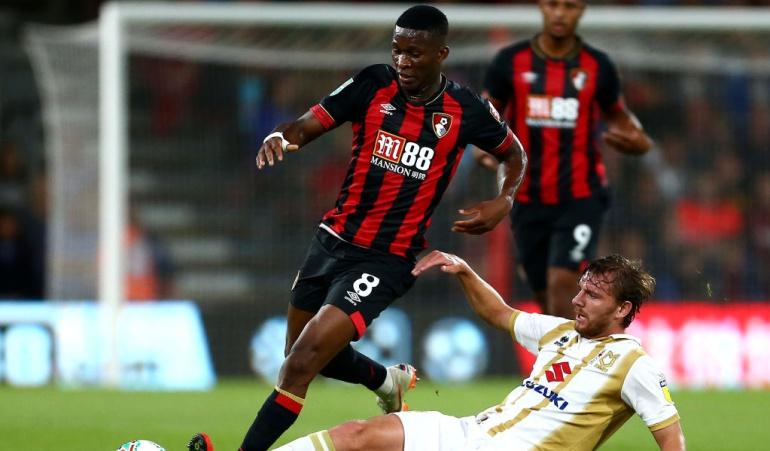 Lerma debut Bournemouth: Lerma debutó con victoria en el Bournemouth en juego de Copa de la Liga