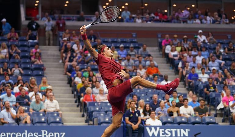 Roger Federer, US Open, Abierto de Estados Unidos, Nishioka: Federer se exhibe ante Nishioka y jugará la segunda ronda del US Open