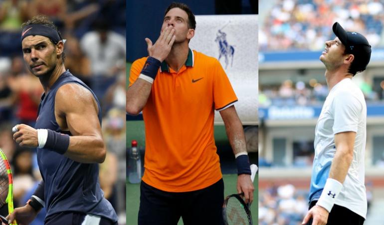 Us Open: Nadal y Del Potro avanzaron en el US Open; Murray, eliminado