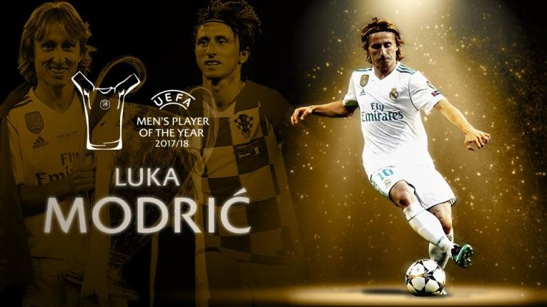 Luka Modrid, Mejor Jugador Uefa, UEFA, Real Madrid: Luka Modric fue elegido como el mejor jugador de la UEFA