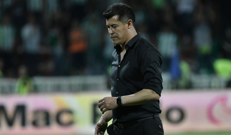 Jorge Almirón, Atlético Nacional: Jorge Almirón dejó de ser técnico de Atlético Nacional