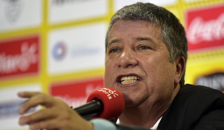 Convocatoria Selección Ecuador, Hernán Darío 'El Bolillo' Gómez: Hernán Darío 'El Bolillo' Gómez reveló la lista de convocados de Ecuador