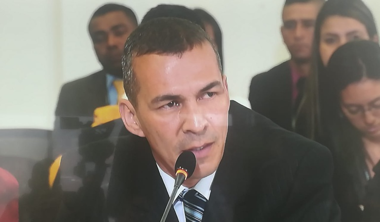 Mayor (r) del Ejército Gustavo Soto Bracamonte, excomandante del Gaula en Casanare y condenado a más de 30 años de cárcel por falsos positivos.