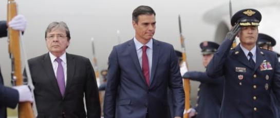 Visita del presidente del Gobierno Español a Colombia: Presidente del Gobierno español ya está en Colombia