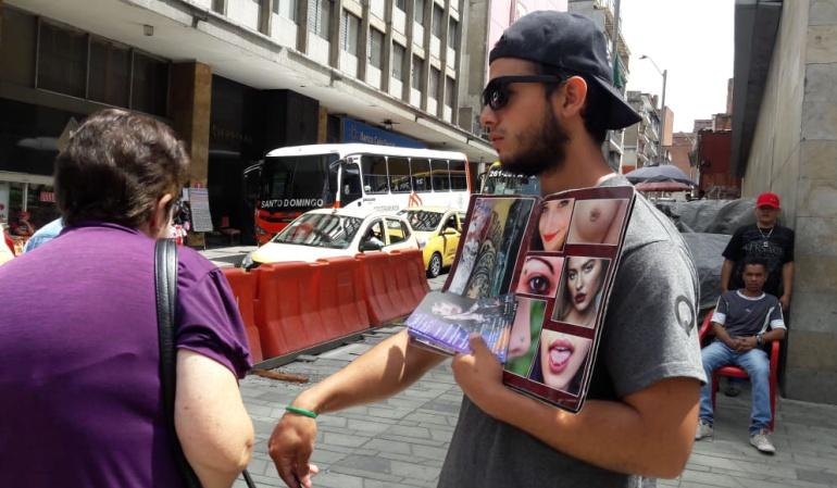 Caminantes venezolanos: Venezolanos, del confort al rebusque, mendicidad y prostitución en Medellín