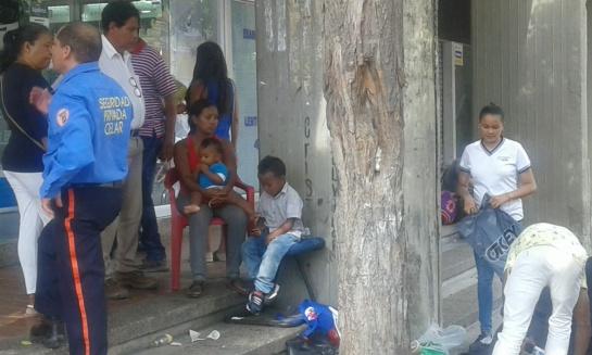 Caminantes venezolanos: Aquí no tenemos tiempo ni de llorar: venezolanos en Santa Marta