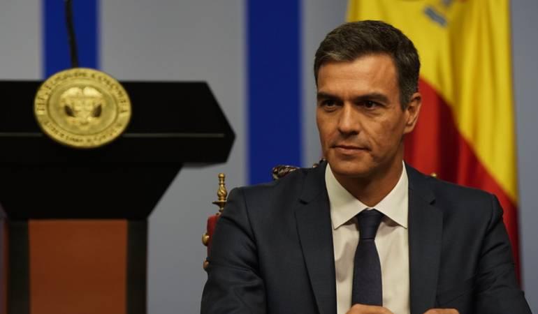 """Pedro Sánchez: """"No se puede llamar democracia a un sistema que tiene presos políticos"""""""