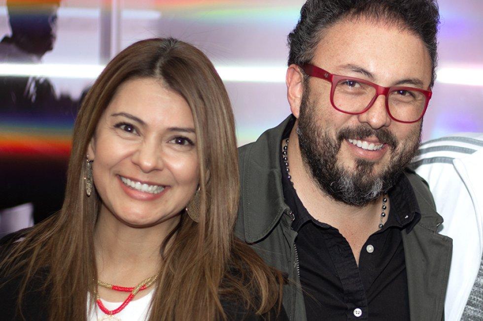 Rafael Cifuentes, director de Los 40 y Radioacktiva, y una de las figuras de Caracol S.A., asistió al estreno de la obra.