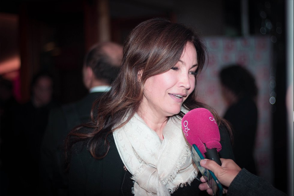 La locutora Patricia López.