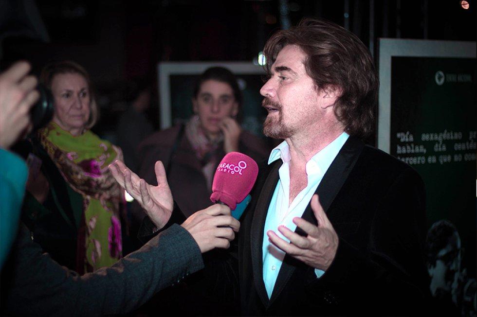 El actor Nicolás Montero.