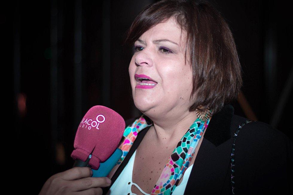 La actriz Carmenza González.