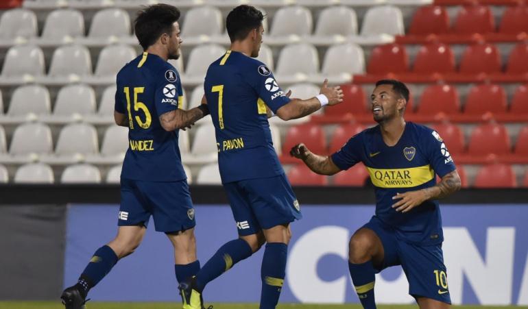 Cardona Barrios Boca Juniors Libertadores: Con gol de Cardona y Barrios como figura, Boca avanzó a cuartos