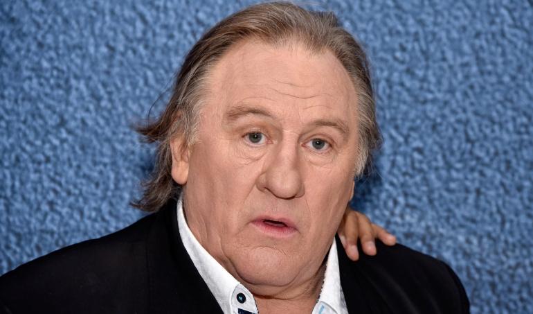 Gérard Depardieu acusado por violación y agresión