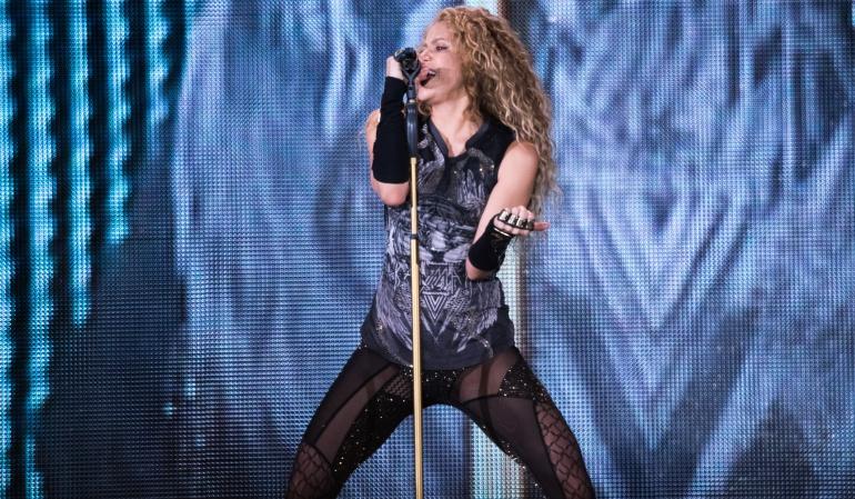 Shakira aplazó su presentación en Los Ángeles por una enfermedad