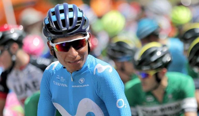 """Nairo Quintana etapa 9 Vuelta a España: Nairo Quintana: """"El cuerpo está bien. Tengo ganas y voy a intentarlo"""""""