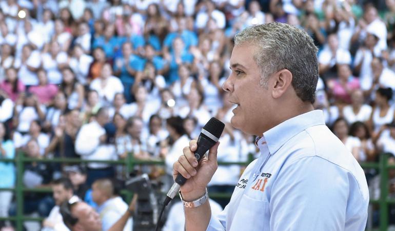 Iván Duque impuestos colombia: Decisión sobre impuestos no tocará a los más vulnerables