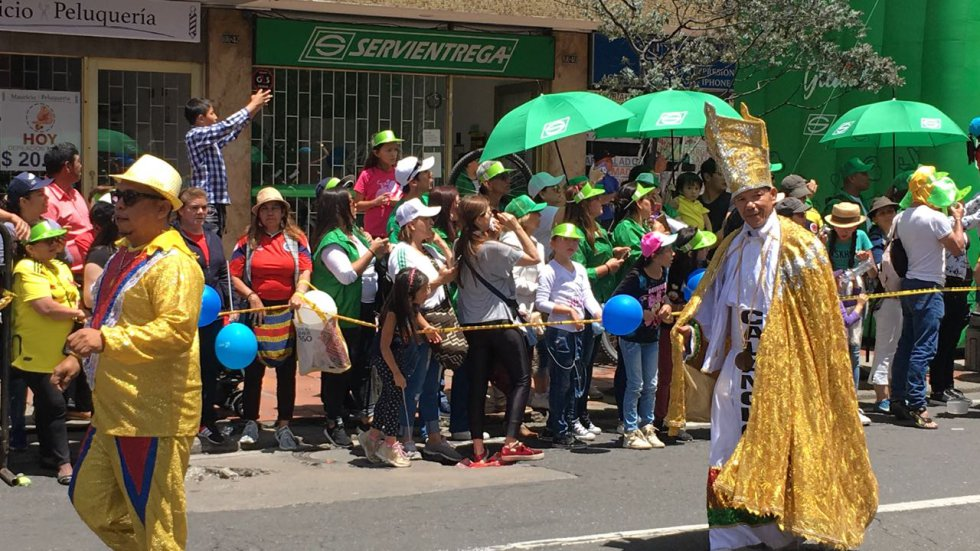 Durante el evento se cuenta con la presencia del presidente Iván Duque y el alcalde de Bogotá Enrique Peñalosa.