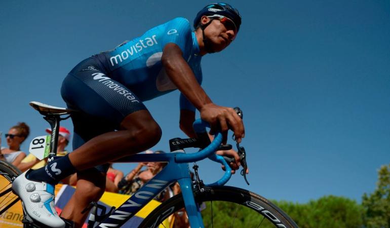 Etapa 9 Vuelta a España: Nairo Quintana saboreó la primera montaña y ya es tercero en la general