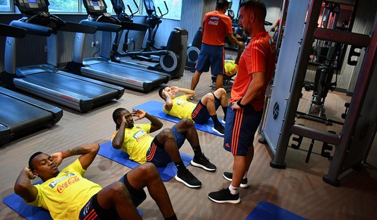 Selección colombia Cuadrado, Quintero, Chara Arboleda: ¡Completos! Selección Colombia entrena con todos sus covocados