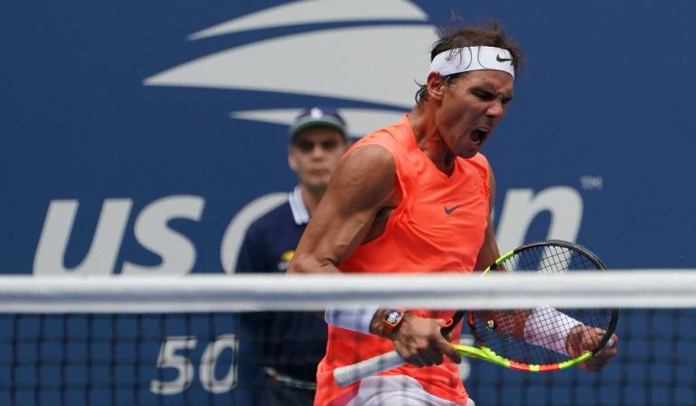 Rafael Nadal Us Open: Rafael Nadal ya está en cuartos de final del US Open