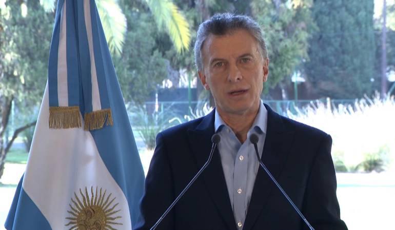 Crisis económica argentina: Macri anunció eliminará 10 ministerios, en medio de crisis económica