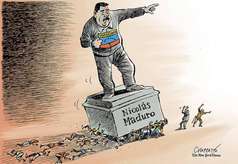 Crisis de Venezuela: Así oprime Maduro a su pueblo, según NYT