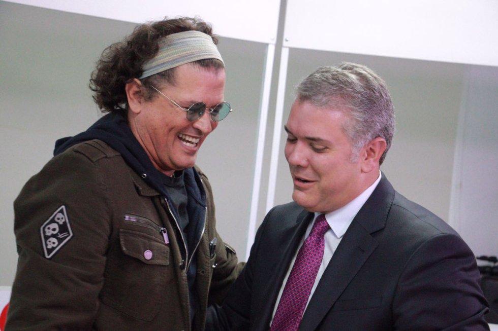 #Caracol70Años Iván Duque: Así es el detrás de cámaras con Iván Duque en #Caracol70años