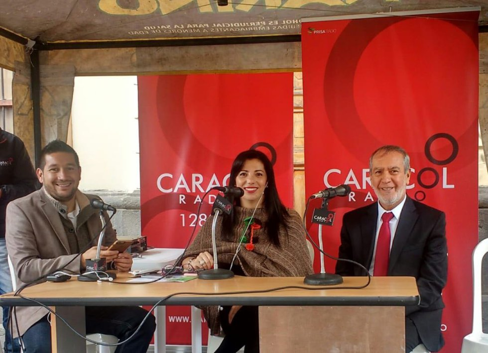 #Caracol70Años: Caracol celebra los 70 años desde diferentes lugares de Colombia