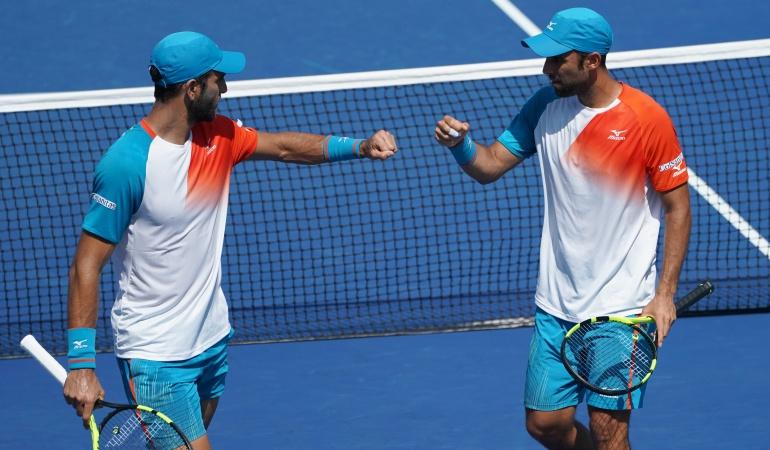 ATP Cabal y Farah, primeros semifinalistas de dobles en el US Open