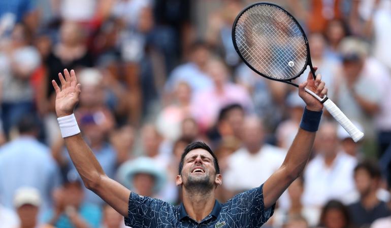 Djokovic Us Open: Djokovic avanzó en el US Open y espera por Federer en cuartos de final