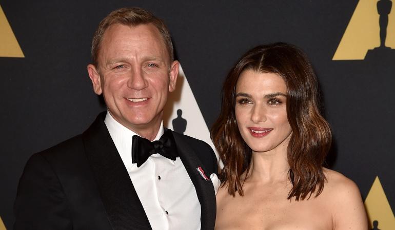 Rachel Weisz y Daniel Craig se convirtieron en padres por primera vez
