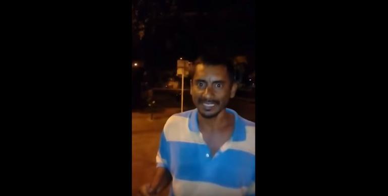 Habitante de calle que canta igual a Chayanne