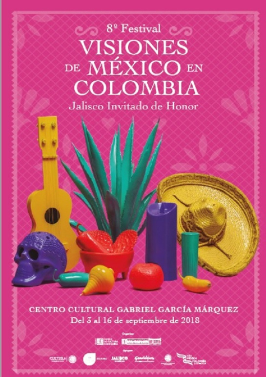 Festivales culturales: Arrancó en Bogotá el Festival Visiones de México en Colombia
