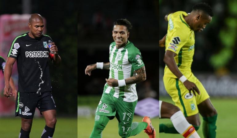 Atlético Nacional: Henríquez, Dayro y Torres se reintegrarán a los trabajos con Nacional