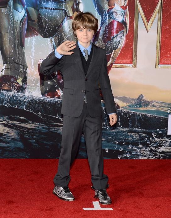 Harley el pequeño que hizo su aparición en Iron Man 3, quien también es un científico en potencia pues ayudó a arreglar la armadura de Tony.