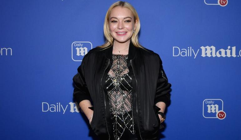El peculiar baile de Lindsay Lohan inspiró a crear memes y un challenge