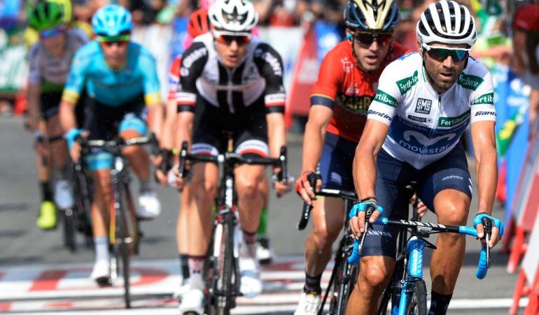 "Valverde Mithcelton Vuelta España: Alejandro Valverde: ""Al Mitchelton les gusta ir de gratis"""