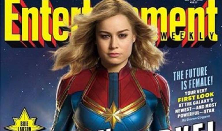 Captain Marvel: ¡Es oficial! Conozcan la 'Captain Marvel' de Brie Larson