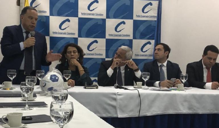 Bancadas de Gobierno Colombia: Conservadores oficializan que serán bancada de Gobierno