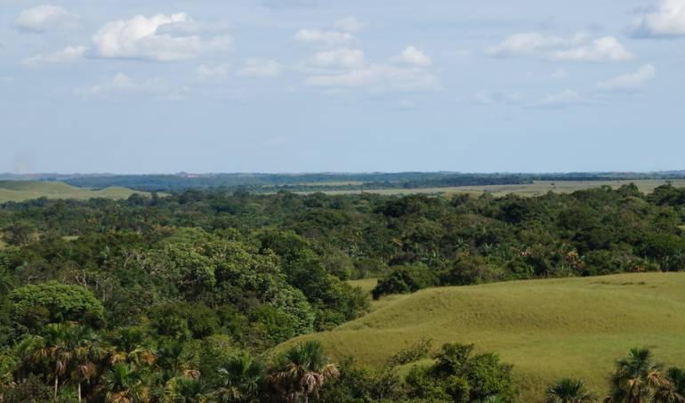 Tierras baldías en el Guaviare