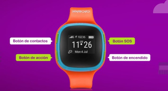 Reloj inteligente para niños: Llegó al mercado el primer reloj inteligente para niños