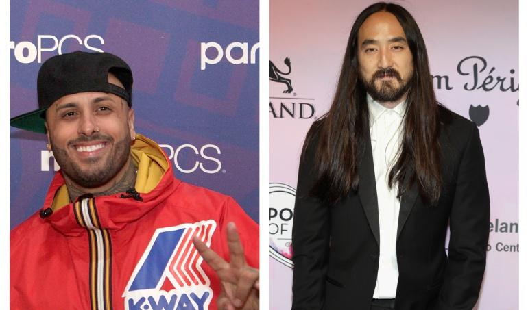 Nicky Jam y Steve Aoki revelan su nueva colaboración musical