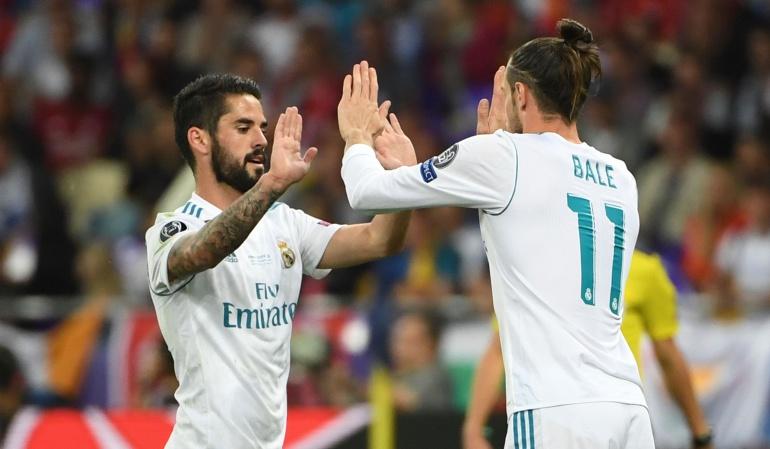 """Isco Cristiano Real Madrid Benzema Bale: Isco: """"De momento no extrañamos a Cristiano"""""""